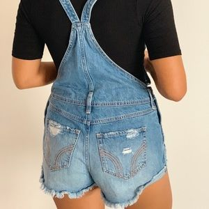 Hollister Jeans - Denim High Rise Overall